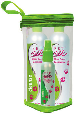 Pet Silk Clean Scent Trio Kit