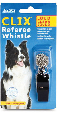 CLIX Referee Whistle, Black