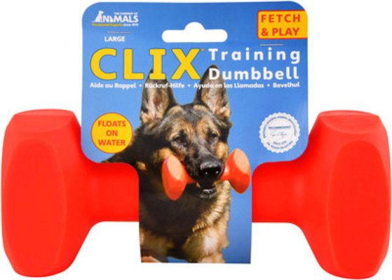 Large Clix Training Dumbell, 7.5""