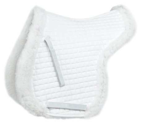 Close Contact Quilted Pad, White