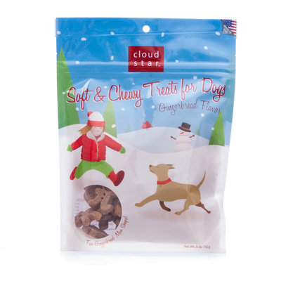 Cloud Star Holiday Soft & Chewy Gingerbread Treats
