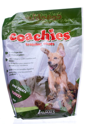 Coachies Training Treats, 16 oz Turkey