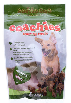 Coachies Training Treats, 6 oz Turkey