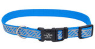 "Lazer Brite Dog Collar, 18""-26"" x 1"""