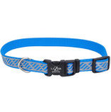 "Lazer Brite Adjustable Dog Collar, 8""-12"" x 3/8"""