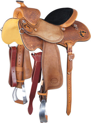 Cody Clark Mounted Shooting Saddle
