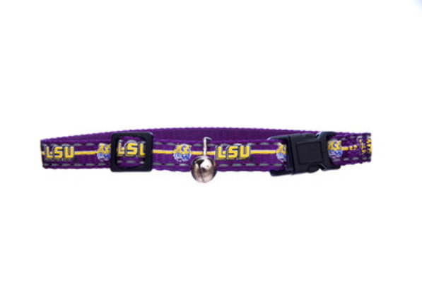"Collegiate Breakaway Cat Collar, (3/8"" W x 8-12""L)"