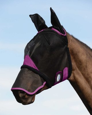 ComFITec Durable Mesh Fly Mask w/ Ears & Nose
