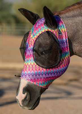 Professional Choice Comfort-Fit Lycra Fly Mask with Ears