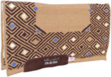 "Comfort-Fit SMx 1/2"" Air Ride Saddle Pad: Canyon"
