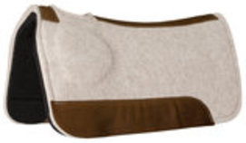 Contoured CorrectFit Barrel Saddle Pad