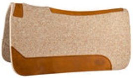 Contoured Felt Saddle Pad