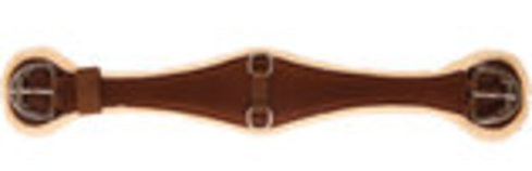 Contoured Fleece Cinch, Brown
