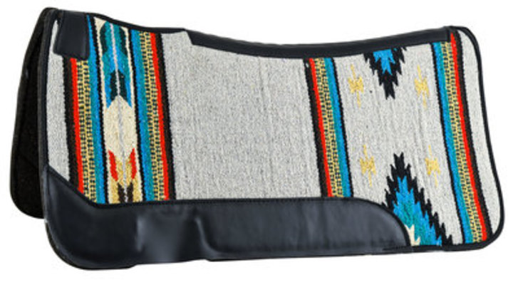 "Contoured Single Weave Felt Saddle Pad, 31"" x 32"""