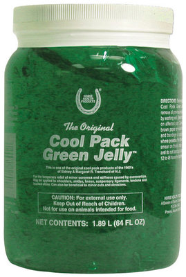 Cool Pack Green Jelly, 1/2 gal