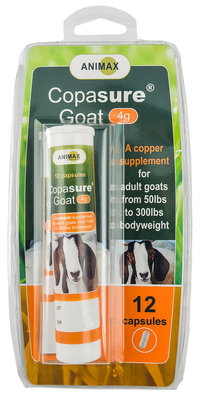 Copasure Bolus for Goats (4 grams), 12 count