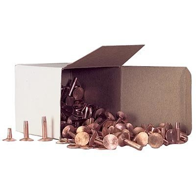 Assorted No. 9 Copper Rivets, 1 lb