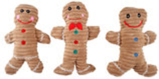 Corduroy Gingerbread Man