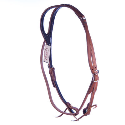 Shaped One-Ear Headstall, harness