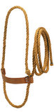 Economy Rope Halter w/Leather Nose Band