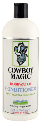 32 oz Cowboy Magic Rosewater Conditioner