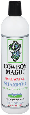 16 oz Cowboy Magic Rosewater Shampoo