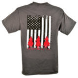"Cowboys Unlimited ""American Posse"" T-Shirt, Charcoal"