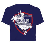 "Cowboys Unlimited ""Shield"" T-Shirt, Navy"