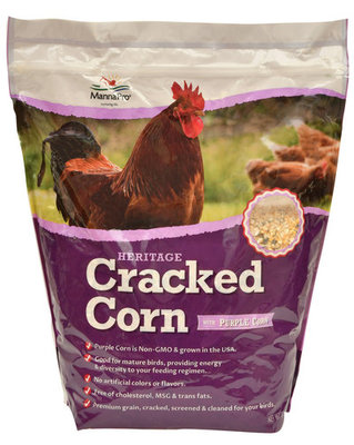 Cracked Corn with Purple Corn, 10 lb