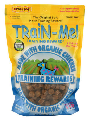 Crazy Dog Organic Train-Me! Training Rewards, 16 oz