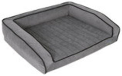 "Crown Supreme Bolster Bed, 24"" x 33"" x 4"""