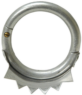 Crown Weaning Ring, cow size