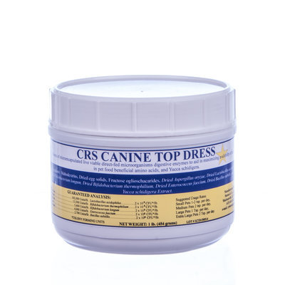 CRS Gold Canine Top Dress 1lb