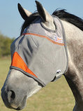 Cashel Crusader Fly Mask without Ears, Orange