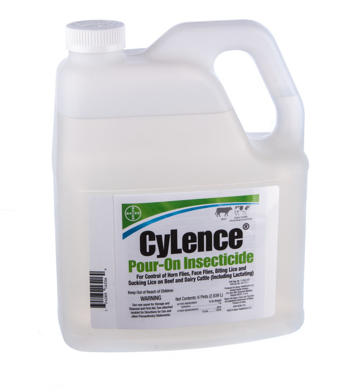 cylence pour on insecticide for cattle 1 clyfluthrin jeffers pet. Black Bedroom Furniture Sets. Home Design Ideas