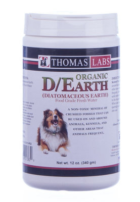 Organic D/Earth (Diatomaceous Earth)
