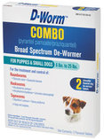 D-Worm Combo, Small Dog (2 pk)