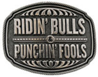"Dale Brisby ""Ridin' Bulls & Punchin' Fool"" Belt Buckle"