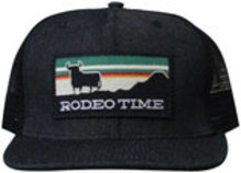 "Dale Brisby ""Rodeo Time"" Cap, Black"