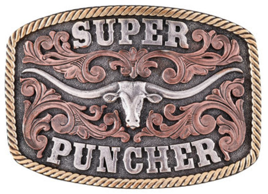 "Dale Brisby ""Super Puncher"" Belt Buckle"