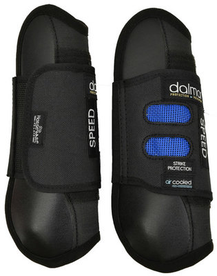 Dalmar Open Front Tendon Boot, Black