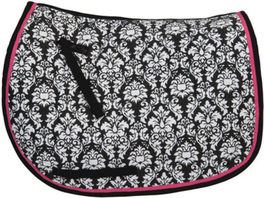 Damask Saddle Pad