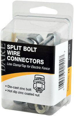 Line Clamp/Tap Split Bolt Style, package of 10