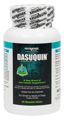 Dasuquin® Chewable Tablets, Small/Med Dogs (84 count)