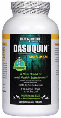 Dasuquin® w/ MSM Chewable Tablets, Large Dogs (250 count)