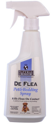 DeFlea Pet & Bedding Spray, 16 oz