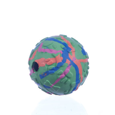 Decorative Rubber Jingle Ball, 3""