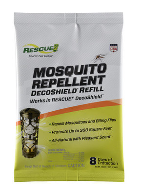 DecoShield Mosquito Repellent, 2 pack refill
