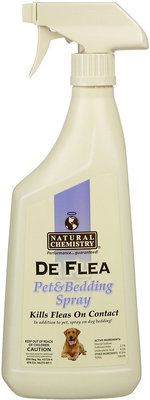 DeFlea Pet & Bedding Spray for Dogs