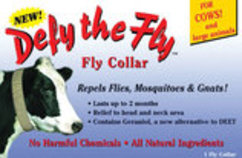 Defy The Fly™ Cow Collar